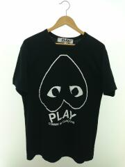 Tシャツ/XL/コットン/BLK/プリント/AZ-T114