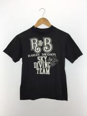 ハーレーダヴィッドソン/Tシャツ/S/コットン/BLK/Hanesボディ/ヴィンテージ/80s/ブラック