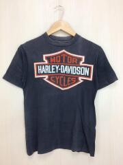 HARLEY DAVIDSON◆Tシャツ/S/ロゴT/80s/80年代/Sサイズ