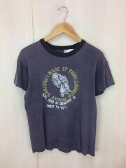 ハーレーダヴィッドソン/Tシャツ/L/コットン/ネイビー/ヴィンテージ/80S