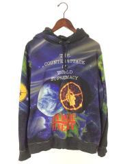 SUPREME/Public Enemy18SS Hooded Sweatshirt/パーカー/M/コットン/B