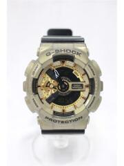 クォーツ腕時計/G-SHOCK/デジアナ/ゴールド/CASIO/カシオ