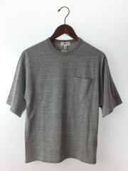 HYKE◆Tシャツ/1/コットン/グレー