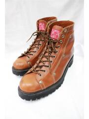 ブーツ/26.5cm/ブラウン/レザー/EVISU/エヴィス