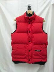 CANADA GOOSE/2830JM FREESTYLE DOWN VEST/赤/ダウンベスト/XS