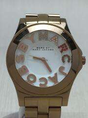 MARC BY MARC JACOBS◆クォーツ腕時計/MBM3138