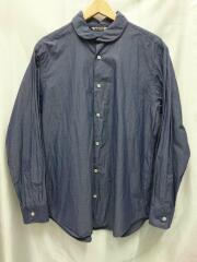 AURALEE◆長袖シャツ/5/SUPERFINE BROADCLOTH ROUND COLLAR