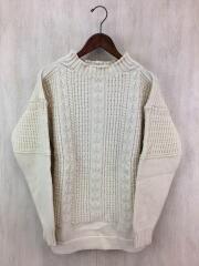 セーター(厚手)/38/ウール/CRM
