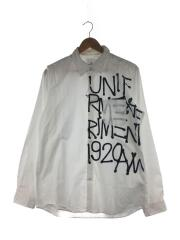 19AW/GRAFFITI REGULAR COLLAR SHIRT/長袖シャツ/3/コットン/UE-192033