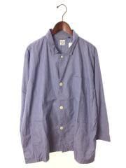 18SS/パジャマシャツ/長袖シャツ/1/コットン/ブルー