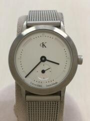 クォーツ腕時計/アナログ/ステンレス/SLV/SLV/K3331/30m防水