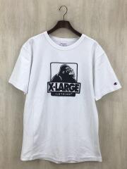 Tシャツ/L/コットン/WHT
