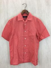オープンカラーシャツ/コットンリネン/半袖シャツ/M/リネン/ORN/121-52-0091