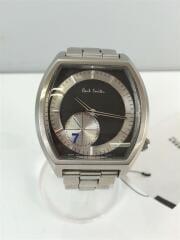 クォーツ腕時計/アナログ/ステンレス/SLV/シルバー/GN-4-5