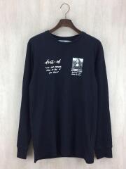 長袖Tシャツ/M/コットン/BLK/モナリザ/omab001s19185005