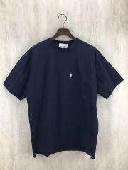 Tシャツ/L/ナイロン/NVY/VM181SU23031
