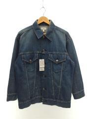 used denim jacket/タグ付き/ダメージ加工/Gジャン/1/デニム/IDG
