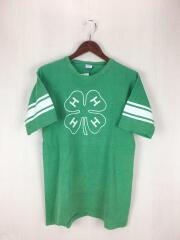 後期バータグ/Tシャツ/L/コットン/GRN