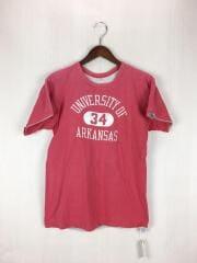70s/後期バータグ/Tシャツ/M/コットン/RED