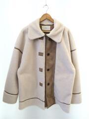 11920005/19AW/Bonding Boa Coat/コート/38/ポリエステル/CRM