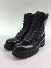 CHIPPEWA/ブーツ/US8/BLK/レザー