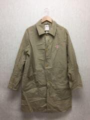DANTON/ステンカラーコート/42/ナイロン/IVO/無地/JD-8041 NTF