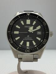 SEIKO/自動巻腕時計/アナログ/ステンレス/BLK/SLV/6R15-03W0