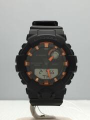クォーツ腕時計/デジアナ/ラバー/GBA-800SF-1AJR/箱有