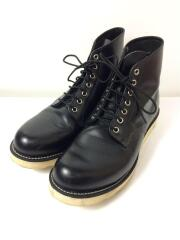 ブーツ/US9.5/ブラック/黒/ワークブーツ/FREAKS STORE/8823/別注/セレクト//ワークブーツ 6inch Classic Round Toe  プレーントゥー MADE