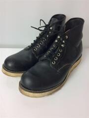 ブーツ/US9.5/ブラック/アイリッシュセッター/90年代後期/犬タグ/ワークブーツ// IRISH SETTER