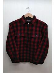 ジャケット/15/ウール/RED/無地/胸ポケット付