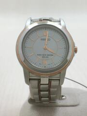ソーラー腕時計/アナログ/3B21-0AP0/セイコー/レディース