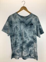 Tシャツ/NT31885/タイダイ/グラデーション/ブルー/XL/ノースフェイス
