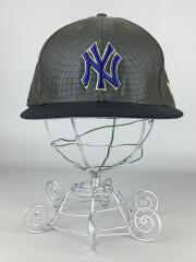 ベースボールキャップ/7.5/GENUINE MERCHANDISE/ヤンキース/NY/カーキ