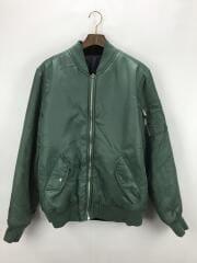 MA-1/フライトジャケット/L/カーキ/ハフ/アウター/ブルゾン/メンズ
