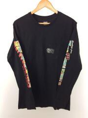 GREETINGS LONG SLEEVE TEE/長袖Tシャツ/M/プリント/メンズ