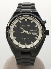 Kinetic/5M83-0AB0/自動巻腕時計/アナログ/セイコー