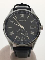 ソーラー腕時計/アナログ/レザー/BV1120-15L/シチズン