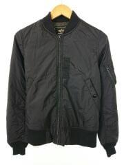 フライトジャケット/M/ブラック/アルファインダストリーズ/TA1032-101
