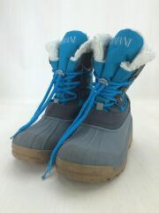 アルマーニジュニア/キッズ靴/--/ブーツ/ブルー