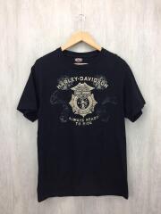 Tシャツ/M/コットン/BLK/ボディヘインズ