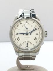自動巻腕時計/アナログ/WHT/SLV/L2.715.4