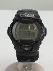 クォーツ腕時計/デジタル/GRY/BLK/BGR-379