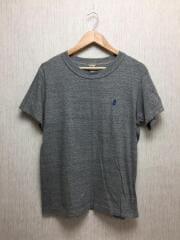 Tシャツ/4/コットン/グレー/無地/191-1000