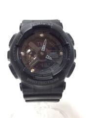BABY-G/クォーツ腕時計/デジアナ/ラバー/ブラック/BA-135DD