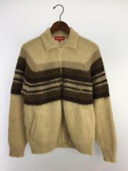 シュプリーム/19AW/Brushed Wool Zip Up Sweat