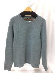 セーター(厚手)/L/ウール/インディゴ/24201-1-89531