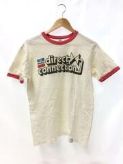 Tシャツ/M/ホワイト/H.OKAMOTO/モパープリント