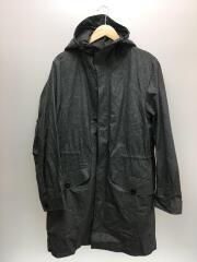 コート/S/ナイロン/グレー/無地/×OGAWA CAMPAL/ライナー付き