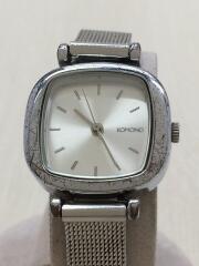 クォーツ腕時計/アナログ/SLV/THE MONEYPENNY ROYALE W1240